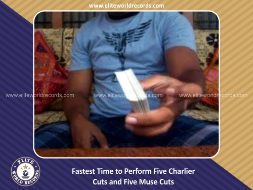 Fastest Time to Perform Five Charlier Cuts and Five Muse Cuts